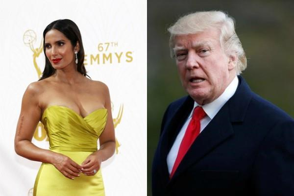 trump a menace to society says padma lakshmi