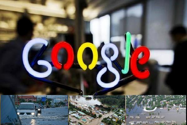 google give ten lakh dollar to flood victim of india nepal and bangladesh