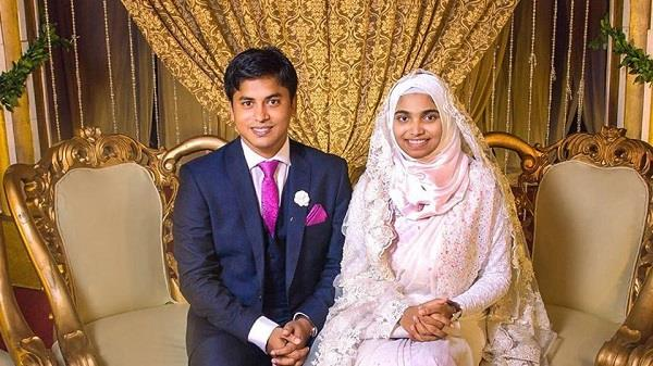 bangladeshi bride didn  t wear any make up or jewellery