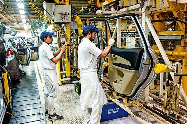 growth hit  iip became negative in june