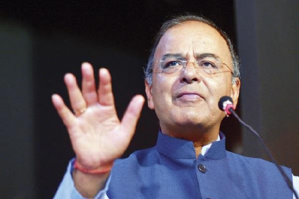 jaitley claims terrorists escaping from kashmir valley