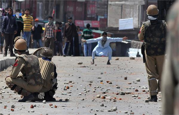 securityforces are being trained to deal with stones