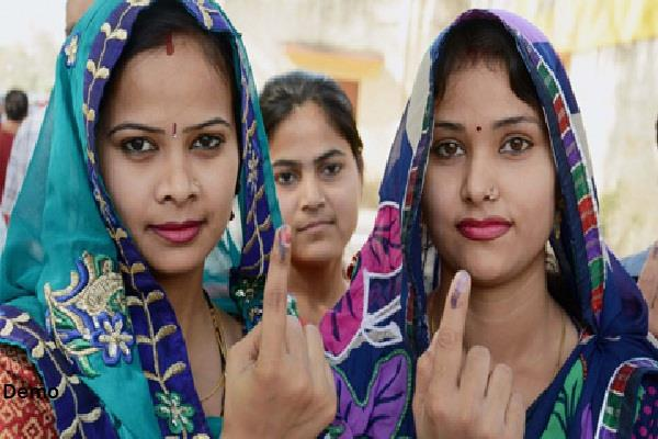 voter will appear on polling booth