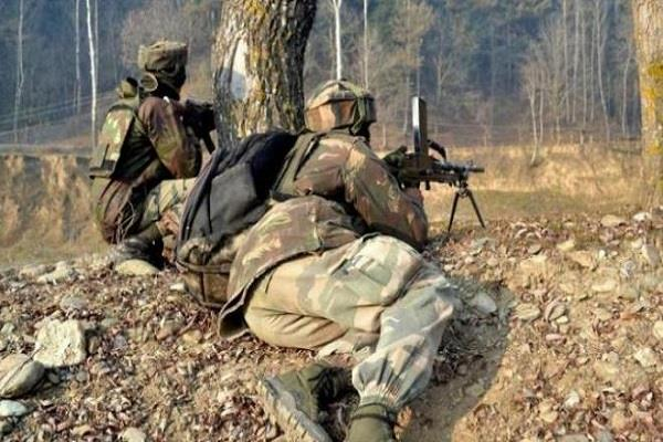 security forces and militants continue to fight in kashmir