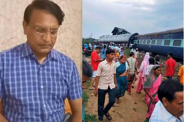traine incident a statement of adg railway vijay morya came in front
