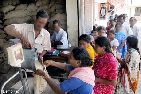 these families will not get increased ration quota in the month of september