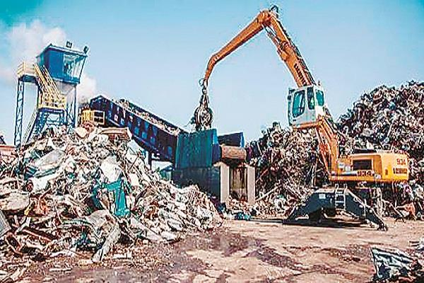 letter written for applying north indias first auto shredding plant