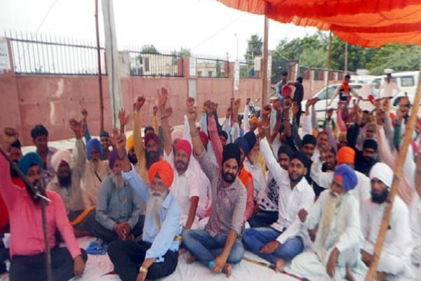the demand of obc reservation of sikh community in rajasthan