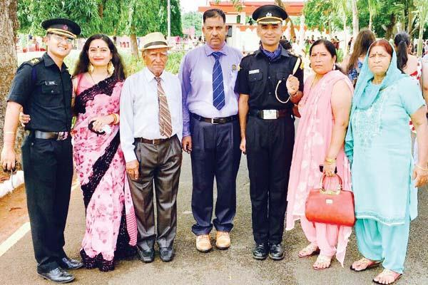 another son raised enhanced value of godland  lieutenant in army