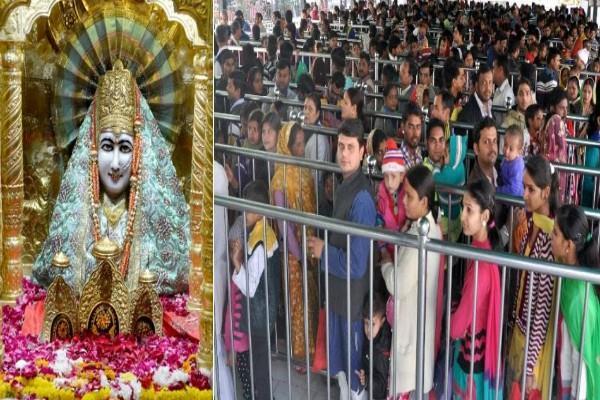 live view of the fair organized in mansa devi