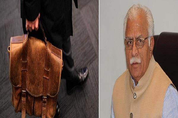 administrative reshuffle in haryana government