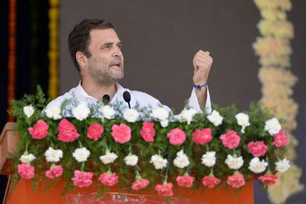 rahul targets pm modi in berkeley