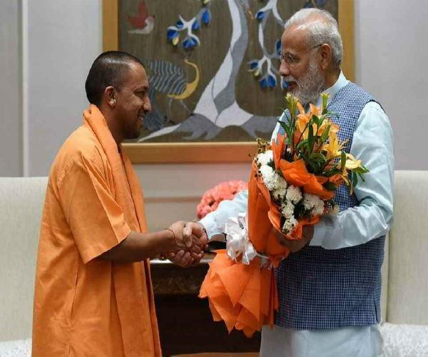 cm yogi will also resign from lok sabha today  pm modi will also meet