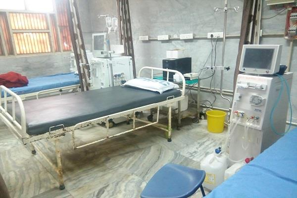 the technical fault of ro motor machine on heavy patients