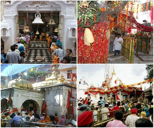 navratra to take decorated maa ke darbar