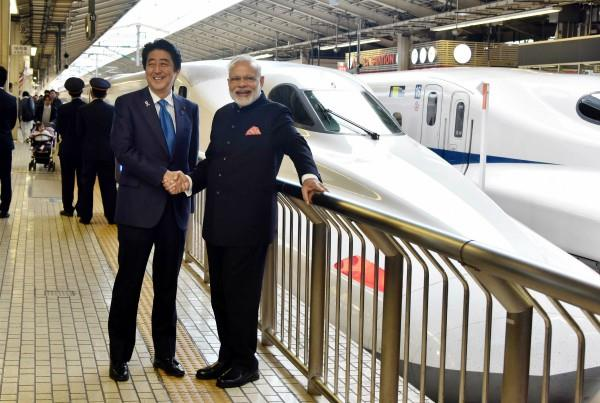 inauguration of bullet train in pitru paksha