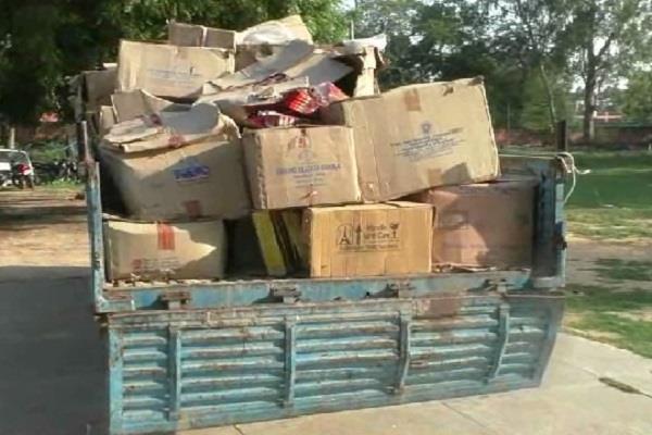 illegal fireworks factory seal found in dera