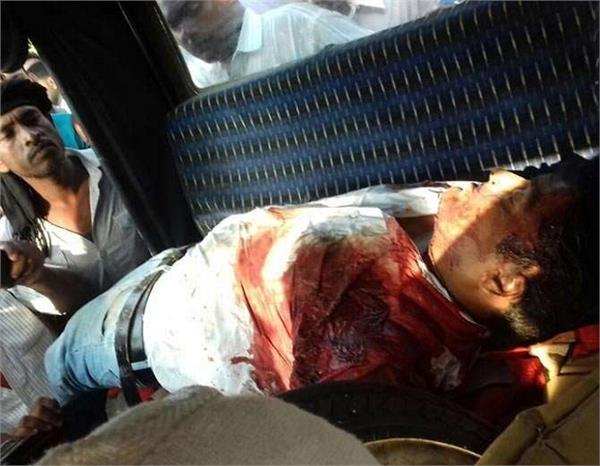 in up son in law of sp leader roasted with bullets