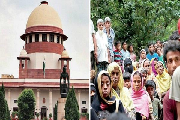 new petition filed against illegal rohingya in sc