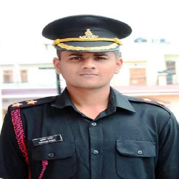 chamba of son himachal of enhanced value army lieutenant