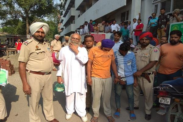 nri arrested with cow meat