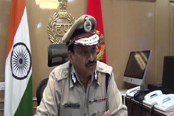 rumor of ram rahim being fake in jail only rumor dgp sandhu
