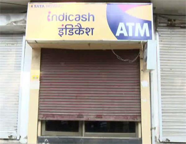 thieves made headache for police lakhs of warriors in atm
