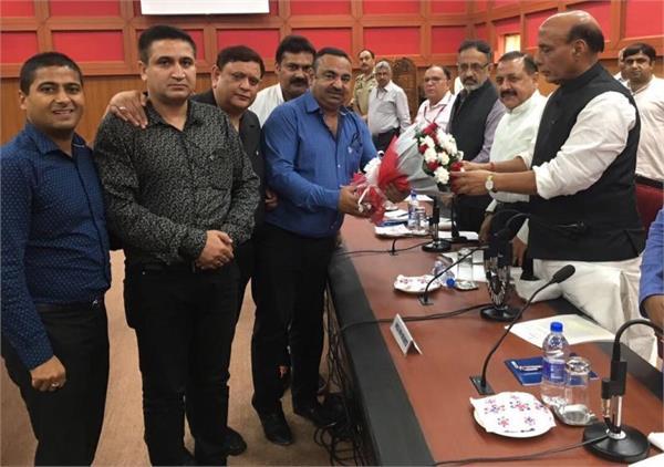 chamber expresses disatisfaction over bjp leaders