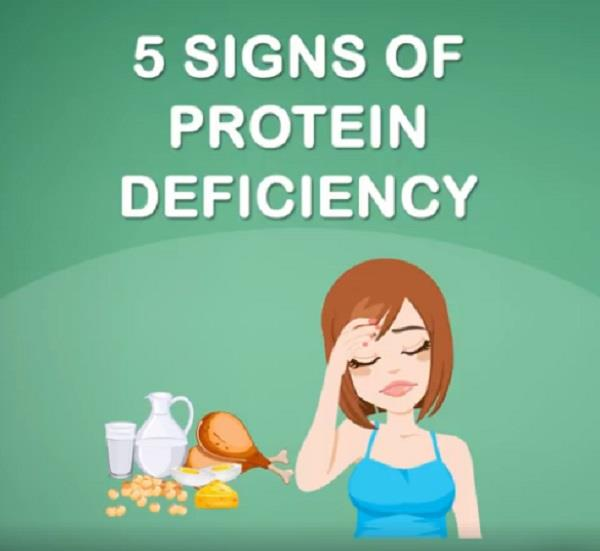 these 5 signs appear on the body s lack of protein