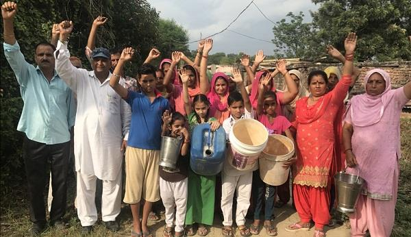 shortage of water supply