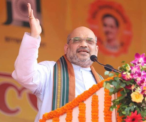 kangra in amit shah of starting the rally congress on target
