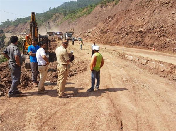 national highway reopen for traffic