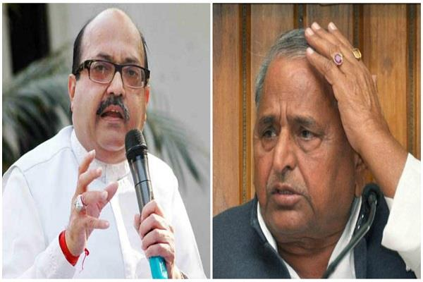 son is stranded in mohan mulayam  no value of his talk  amar singh