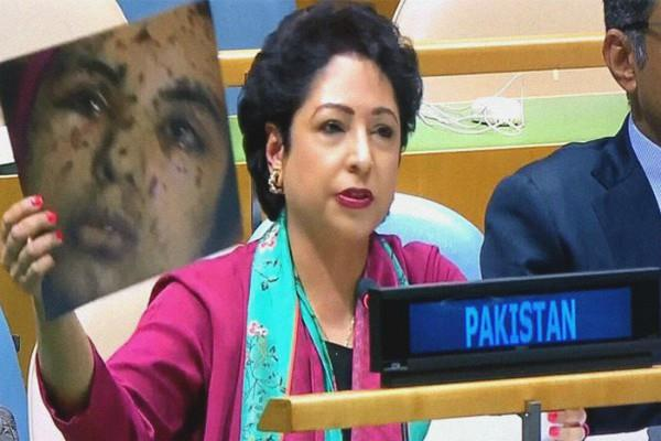 india mother of terrorism in south asia lodhi hits back at swaraj