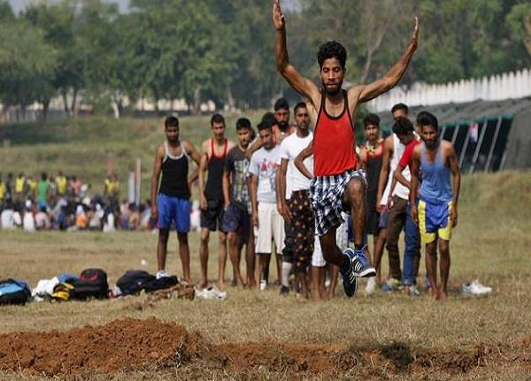 army recruitment for of 3 districts young troubled