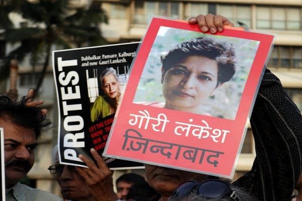 sit gets big success in gauri lankesh murder case
