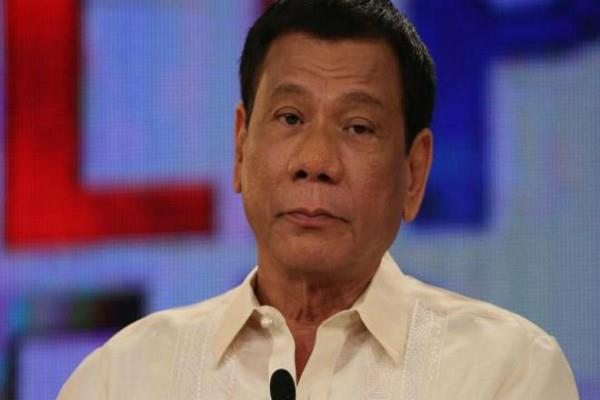 shots fired near philippine president residence