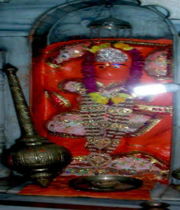 hanuman jis unique temple applied for the destruction of enemies