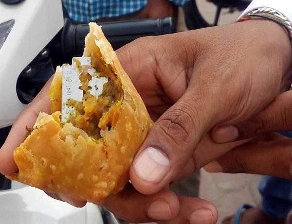 out of samosas blade