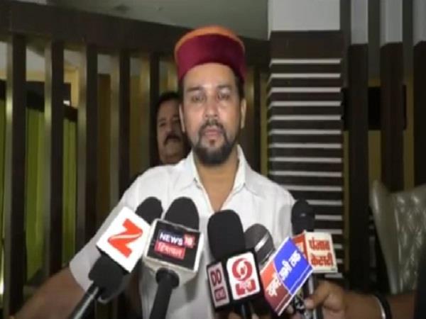 anurag s tireless war said cm virbhadra specializes in discrimination