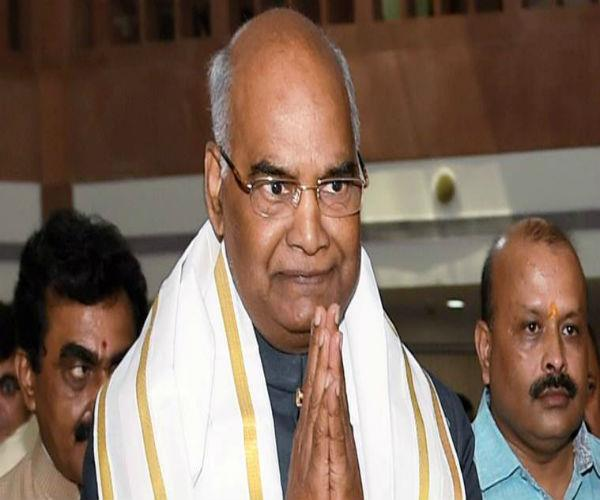 kovind to visit home district for the first time after becoming president