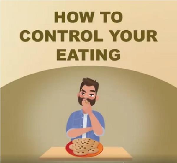 keep such a control over eating