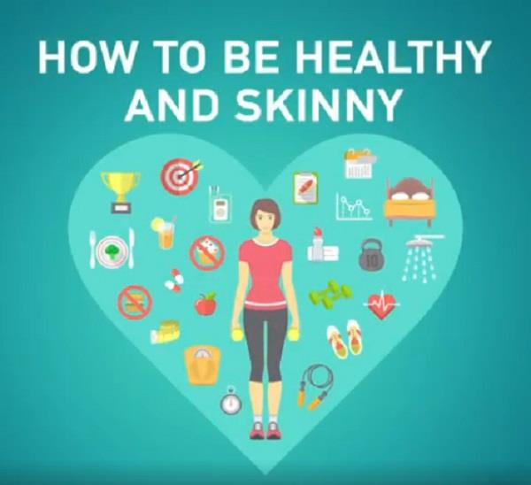 to get a healthy and thin body  insert these into the diet