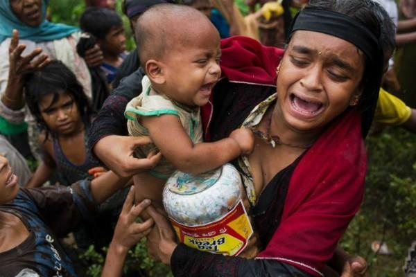un appeals to international community to help rohingyas