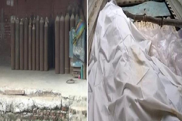 haryana faridabad death gas leak police
