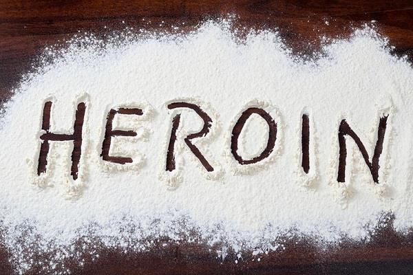 heroin recovered