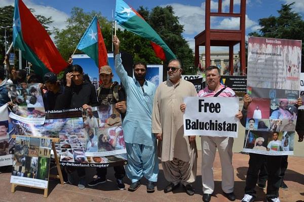 world baloch organisation protests against pak