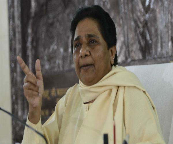 rohingya muslims adopt human approach towards muslims  mayawati