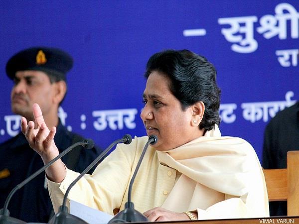 bjp is using vande mataram as political  mayawati