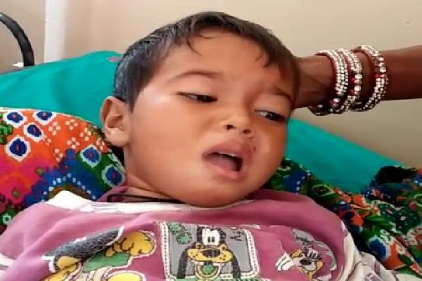 symptoms of polio in child